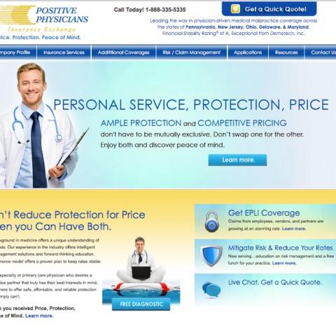 Positive Physicians Website