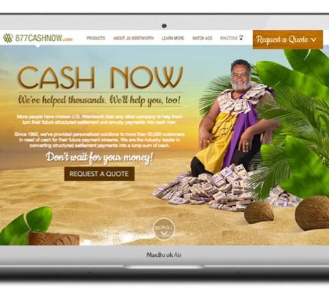 877-Cash-Now Website