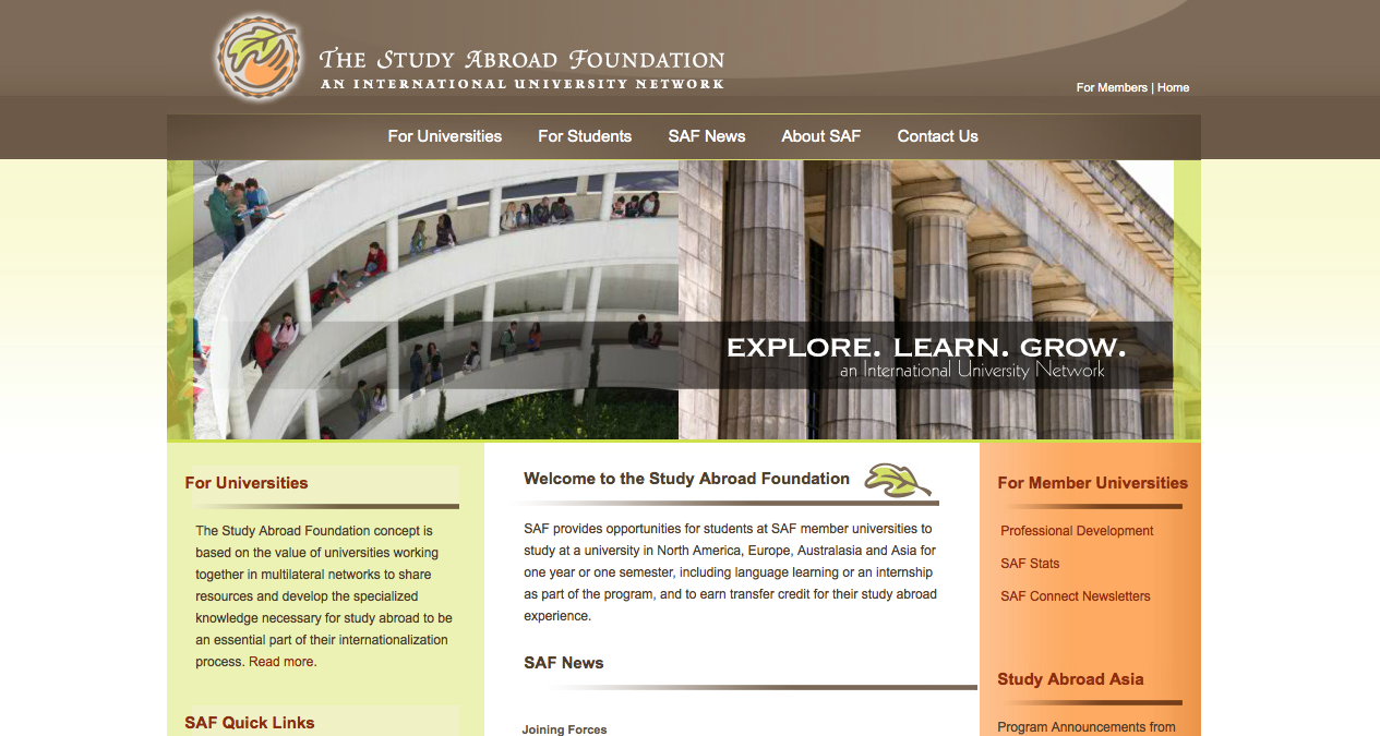 Study abroad foundation
