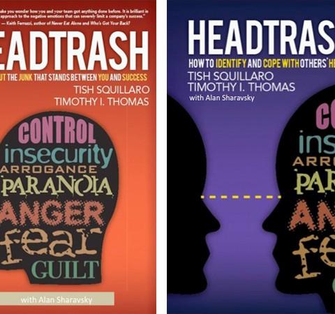 Alan Sharavsky, ghostwriter and co-author of HeadTrash