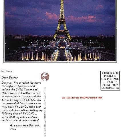 Tylenol DR Campaign, Paris